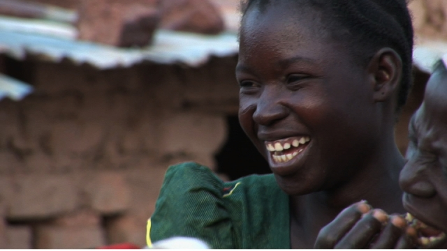 Burkina Faso, Yvette aus Gampela
