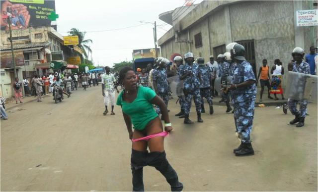 la greve du sexe au Togo
