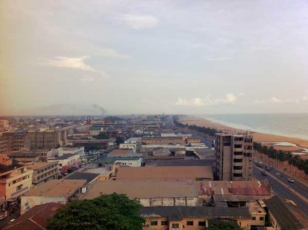 Togo, la plage